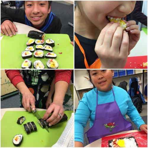 Session 4, Day 1 - Fruit sushi