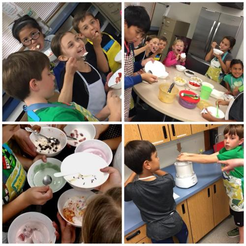 Photo Collage, Day 4 - Ice Cream Party
