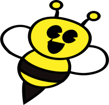 One Striped Bee Logo