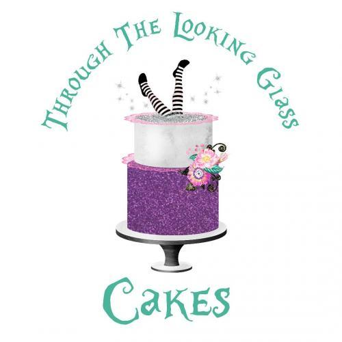 Through the Looking Glass Cakes logo